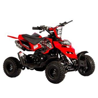 Tinker Motors RZR 49cc 2 Stroke Pocket Rocket Kids ATV (Red)