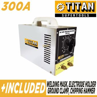 Titan Supertools BX6 300A Stainless Body Welding Machine (silver)