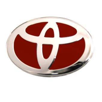 Toyota Emblem for Steering Wheel (Red)