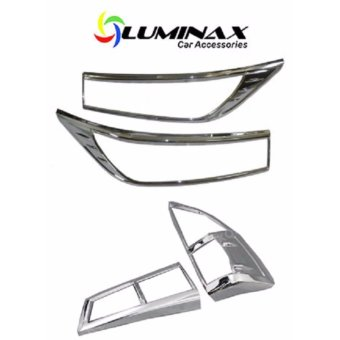 Toyota Innova 2016+ (2 Set) Headlight and Tailight Cover ChromeProtector