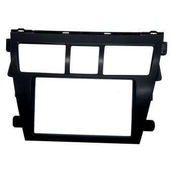 Toyota Vios 2008-2013 Stereo Panel for 2 din stereos (Black)