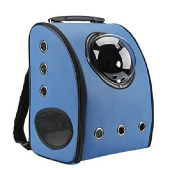 Travel Bag Bubble Backpack Pet Carriers for Cats and Dogs,Blue