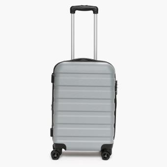 Travel Basic Ciao Nora Small Hard Luggage (Silver)