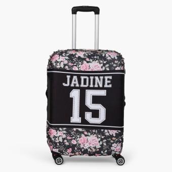 Travel Basic Team Real Large Luggage Cove (Black Jadine)