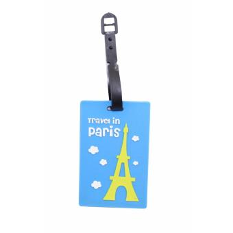 Travel in Paris Eiffel Tower Design Travel Accessories Luggage Tag