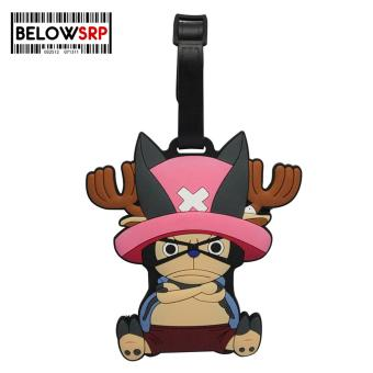 Travel Manila Character Luggage Bag Tag with Name, ID, AddressLabel (Chopper)