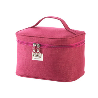 Travel portable cosmetic storage bag makeup bag