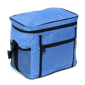 Travel Portable Waterproof Thermal Cooler Insulated Tote Picnic Lunch Ice Bag Royal Blue