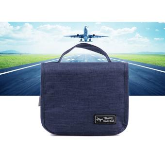 Travel Was Bag Toiletry Pouch (Blue)