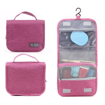 Travel Wash Bag Toiletry Pouch (Pink)
