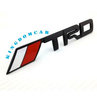 TRD Emblem Stick-On Type Black for Toyota Avanza