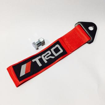 TRD Towstrap Red