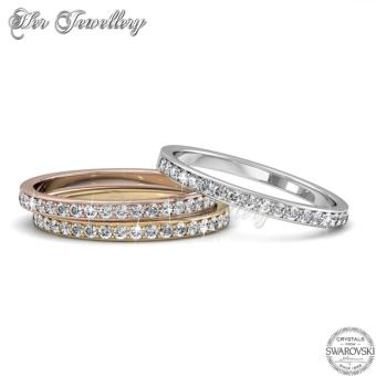 Trinity Ring - Crystals from Swarovski