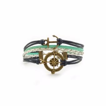 Trinkets for Keeps - Compass and Anchor Bracelet