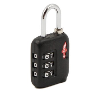 TSA Custom Lock Travel Sentry Security Luggage Padlock 3-Dial Code Password - intl - 2