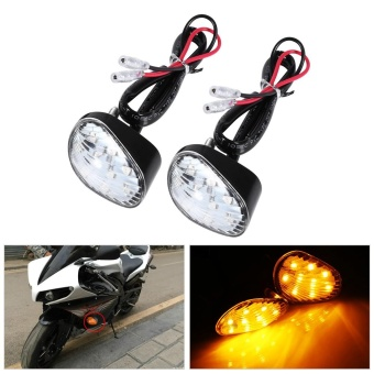 Turn Signal LED Indicator Light Lamp Flush For Yamaha YZF R1 R6 FZ1FZ6 - intl