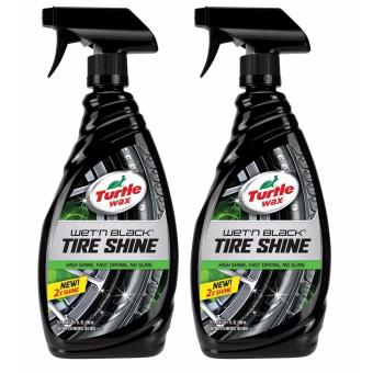 Turtle Wax T-217 Wet'n Black Tire Shine 680ml (bundle of 2)