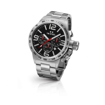 TW Steel Men's Silver Stainless Steel Bracelet Watch (CB7)