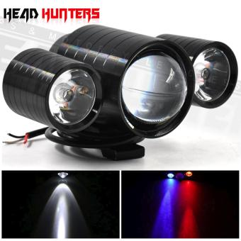 U10 CREE LED - Head Hunters LED Projector 30W Head Light Driving Spot Fog Lamp with Devil Eyes Light Fog Lamp Aircraft Cannon