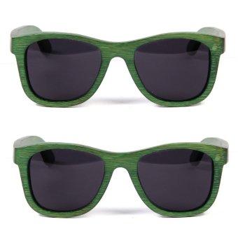 Uddo Nori Sunglasses (Green) Set of 2
