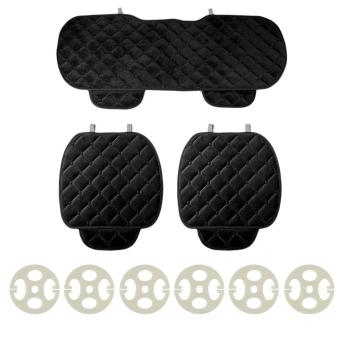 UINN 3PCS/Set Car Seat Cushion Front Back Seat Covers Auto Vehicles Chair Pad Mat