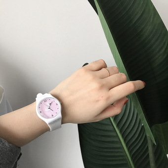 Ulzzang Korean version of female high school students quartz watch