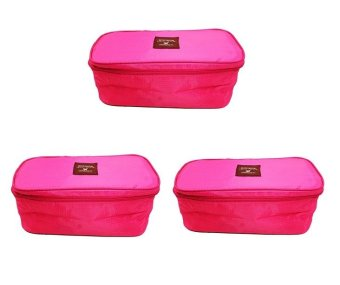 Underwear Pouch Set of 3 (Pink) - picture 2