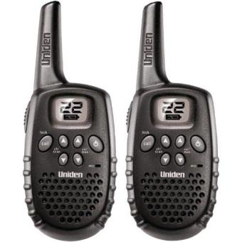 Uniden Gmr1635-2 22-Channel 16-Mile Range Frs/Gmrs Battery OperatedTwo-Way Radios - Set Of 2 - Black Price Philippines