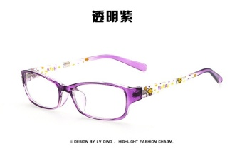 Unisex Lens Frame Eyeglasses for Kids Children - 3