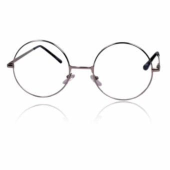 Unisex Round Metal Frame Clear Lens Nerd Spectacles Eye Glass(Harry Potter)