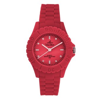 UniSilver TIME Mini Gelato Women's Light Red / White Analog Rubber Watch KW1856-2103