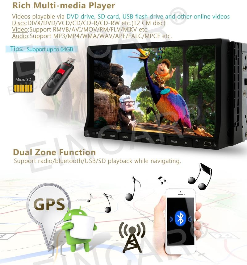 Philippines | Universal Android 6 0 system 7 inch HD Touch