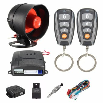 Universal CAR REMOTE CONTROL ALARM KEYLESS ENTRY SYSTEM Anti-Theft Door Lock - intl Price Philippines