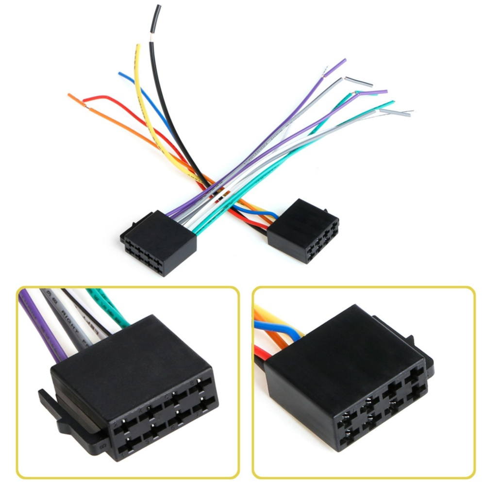 Philippines Universal Female Iso Wiring Harness Car Radio Adaptor Stereo Wire Connectorwire Plug Kit Intl