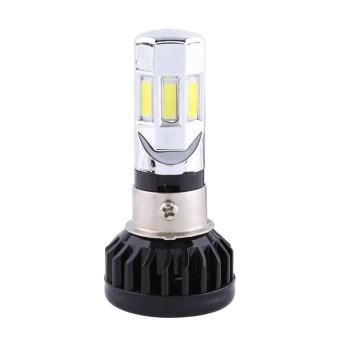 Universal Motorcycle 9V-18V LED Headlight High/Low Beam Front LightBulb Lamp 3500lm 3 LEDs - intl - 2