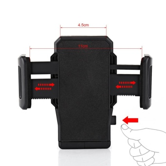 Universal Motorcycle Bike Scooter Handlebar Mount Stand Holder ForMobile Phone iPhone - intl - 5