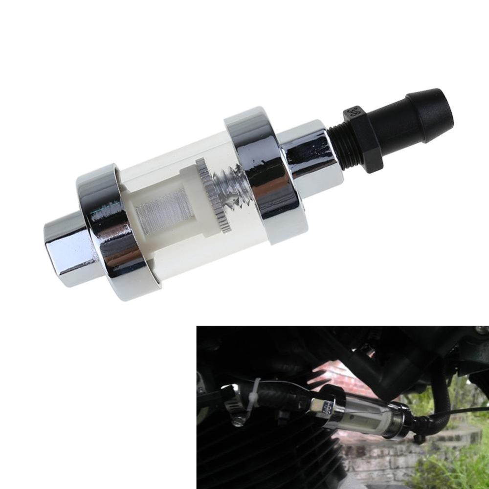 Philippines Universal Motorcycle Gasoline Fuel Filter For 6mm 8mm 10mmconnector Intl