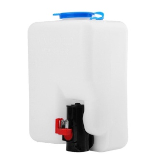 Universal Windshield Windscreen Washer Pump Bottle Tank KitCleaning Tools 12V for Classic Cars - intl - 4