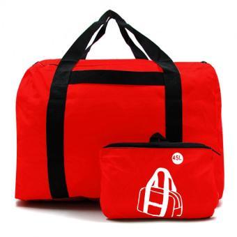 Urban Hikers Mick Hiking Travelling Weekender Bag (Red) - 4
