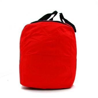 Urban Hikers Mick Hiking Travelling Weekender Bag (Red) - 3