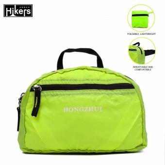 Urban Hikers Travel Compact Foldable Waist Pack Waist Bag (Lime)