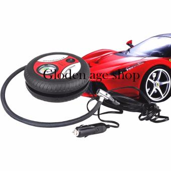 USA TOP ONE lazada and USA best selling Portable Tire Inflator 12VElectric Car Air Compressor Multifunctional Pump