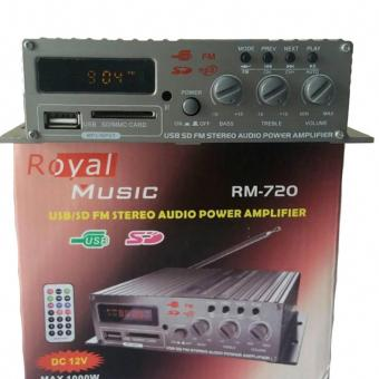 USB/SD STEREO AUDIO POWER AMPLIFIER RM720