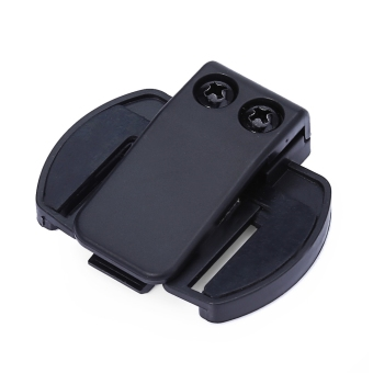 V6 BT Bluetooth Motorcycle Motorbike Helmet Intercom Headset Bracket Clip Holder - intl