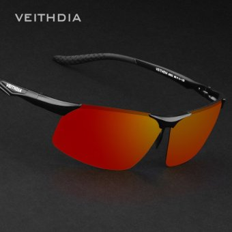 VEITHDIA Aluminum Magnesium Polarized Sunglasses Men Sports Sun glasses Night Driving Mirror Male Eyewear Accessories Goggle Oculos 6502 - intl