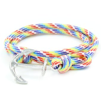 Venice Sliver Minnie Anchor Bracelet (Multicolor)