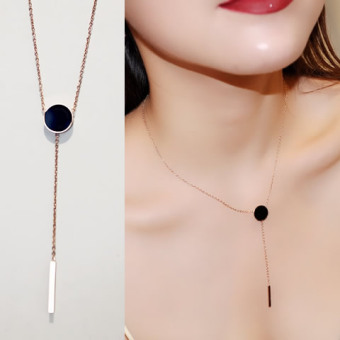 Versatile female short necklace choker