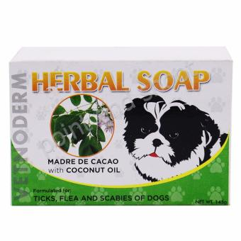 Vetnoderm Herbal Soap - Madre de Cacao with Coconut Oil - 145g