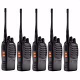 VHF UHF FM Transceiver Walkie Talkie Two-Way Radio set of 5(Black)SW-888S