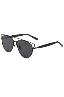 Vintage Polarized UV400 Sunglasses (Black) - picture 2